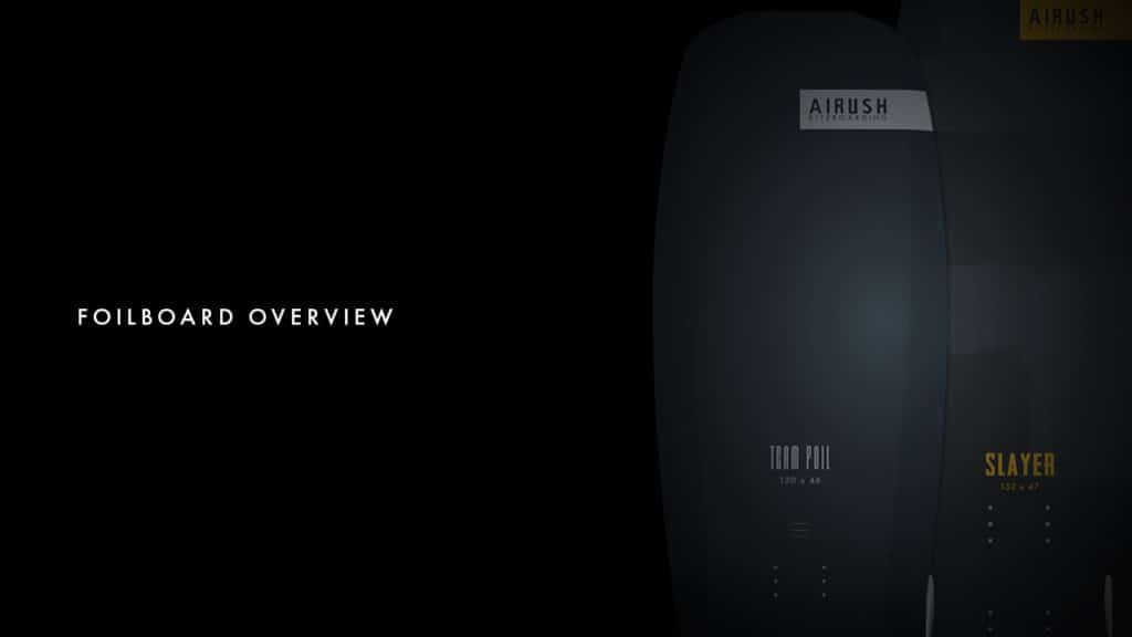 Airush - Convertible & Foil Board Range Overview 1