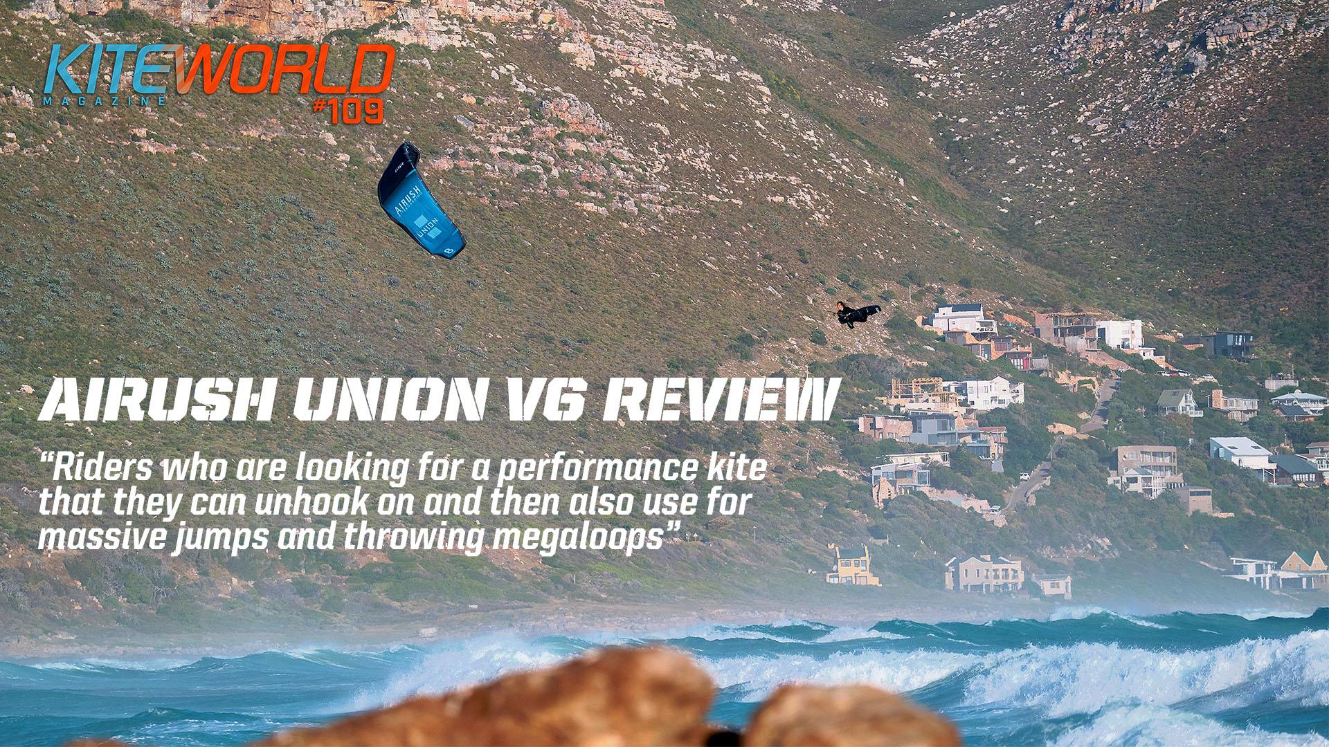 Kiteworld Review - Airush Union v6 3